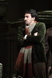Charles Castronovo as Rodolfo in La bohème © ROH / Catherine Ashmore