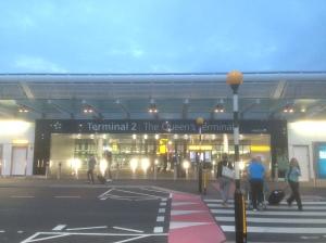 LHR T2 entrance