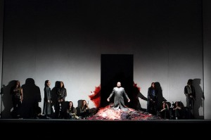 Cast of Idomeneo in Martin Kušej's production of Idomeneo © ROH.Catherine Ashmore 2014
