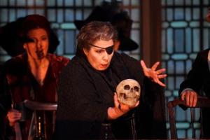 Marianne Cornetti as Ulrica in Un ballo in maschera © ROH. Photographer Catherine Ashmore