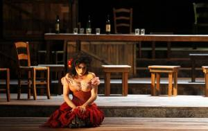 As Carmen. Photo: Heloisa Ballarini