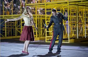 Die Soldaten at the Komische Oper: Marie (Susanne Elmark), Photo: Monika Rittershaus