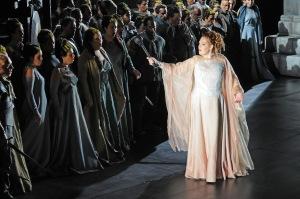 Sondra Radvanovsky, Cor del Gran Teatre del Liceu ©Toni Bofill/Gran Teatre del Liceu