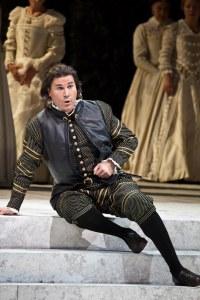 As Rodrigo in Don Carlo Teatro alla Scala, Milano - 2013 © Marco Brescia