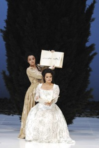 As Dorabella with Malin Hartelius as Fiordiligi at the Opernhaus Züirch © Suzanne Schwiertz