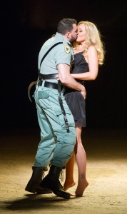 Eric Cutler & Justina Gringyte in Carmen at ENO © Alastair Muir