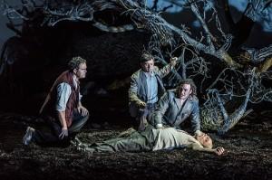 Gerald Finley, Alexander Vinogradov, John Osborn, Eric Halfvarson in Guillaume Tell © ROH/Clive Barda