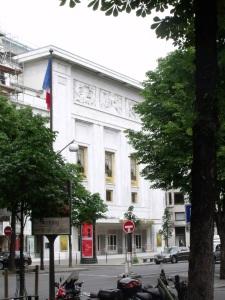 The Théâtre des Champs-Élysées, Paris © Elliott Brown