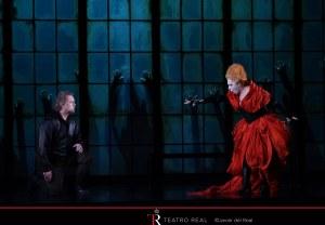 Mariella Devia (Elisabetta) & Gregory Kunde (Roberto Devereux) © Javier del Real | Teatro Real