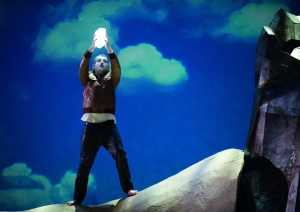 As Melisso in Alcina in Oslo Photo: © Jörg Wiesner / The Norwegian National Opera & Ballet
