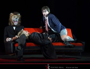 Actor, Karina Gauvin, Erika Escribà © Teatro Real/Javier del Real