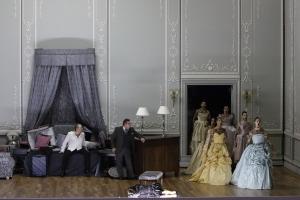 Svetlana Sozdateleva, Yevgeny Nikitin, Ulrich Reß, Opernballett der Bayerischen Staatsoper © Wilfried Hösl