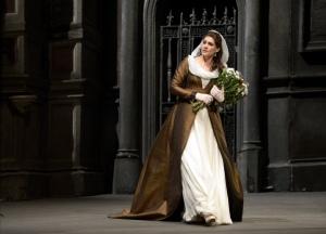 Anja Harteros as Tosca at the Deutsche Oper Berlin © 2013, Bettina Stöß