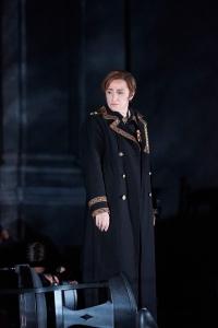 Anna Bonitatibus as Tancredi at the Opéra de Lausanne © M. Vanappelghem