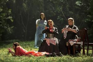 Karolina Gumos, Asmik Grigorian, Christiane Oertel, Margarita Nekrasova © Iko Freese | drama-berlin.de
