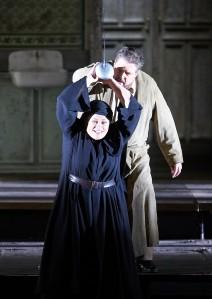 Violeta Urmana, Stephen Gould © Wiener Staatsoper / Michael Pöhn