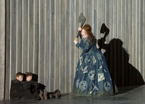 'Norma' Opera performed by English National Opera at the London Coliseum, UK
