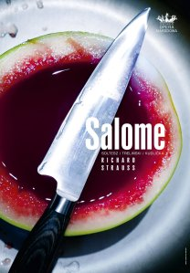 Poster for Salome at the Teatr Wielki - Opera Narodowa © Teatr Wielki - Opera Narodowa