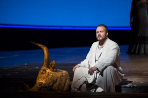 As Theseus in Birtwistle`s The Minotaur at the Royal Opera. Photo: © ROH/ Bill Cooper