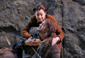 As Leonore in Fidelio with Paul Groves as Florestan in Santa Fé © Ken Howard