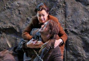 As Leonore in Fidelio with Paul Groves as Florestan in Santa Fé © Ken Howard
