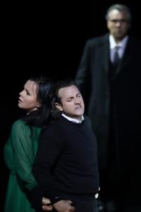 Aleksandra Kurzak, John Osborn, Roberto Alagna © Wilfried Hösl