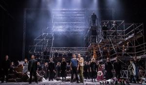 Natalia Tanasii, Johannes Kammler, Evan LeRoy Johnson, Operakoret © Erik Berg