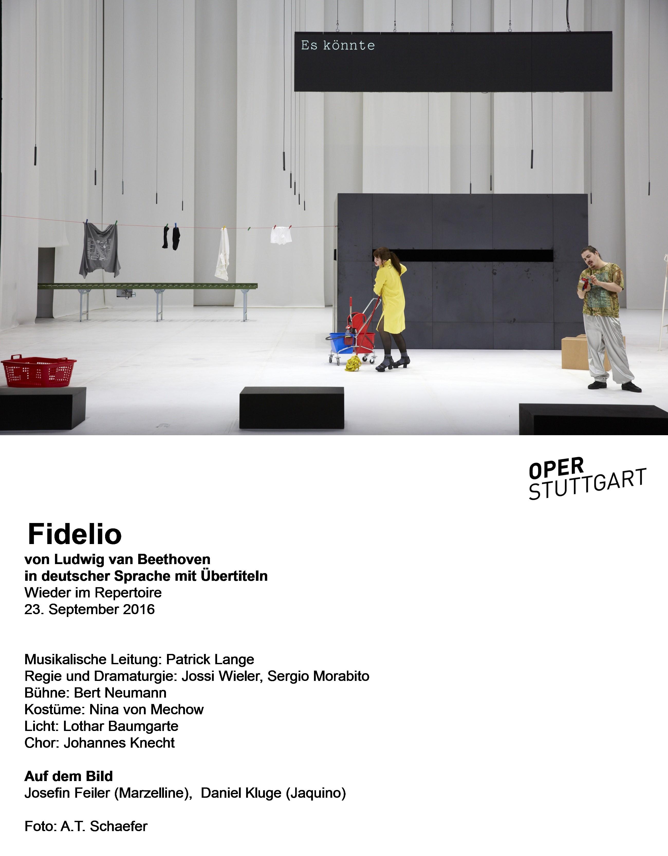 Prisoners: Fidelio at the Oper Stuttgart – operatraveller