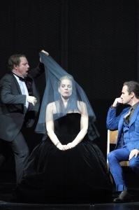 Matthew Polenzani, Elīna Garanča, Mariusz Kwiecień © Wilfried Hösl