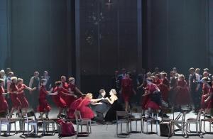 Matthew Polenzani, Elīna Garanča, Chor der Bayerischen Staatsoper, © Wilfried Hösl