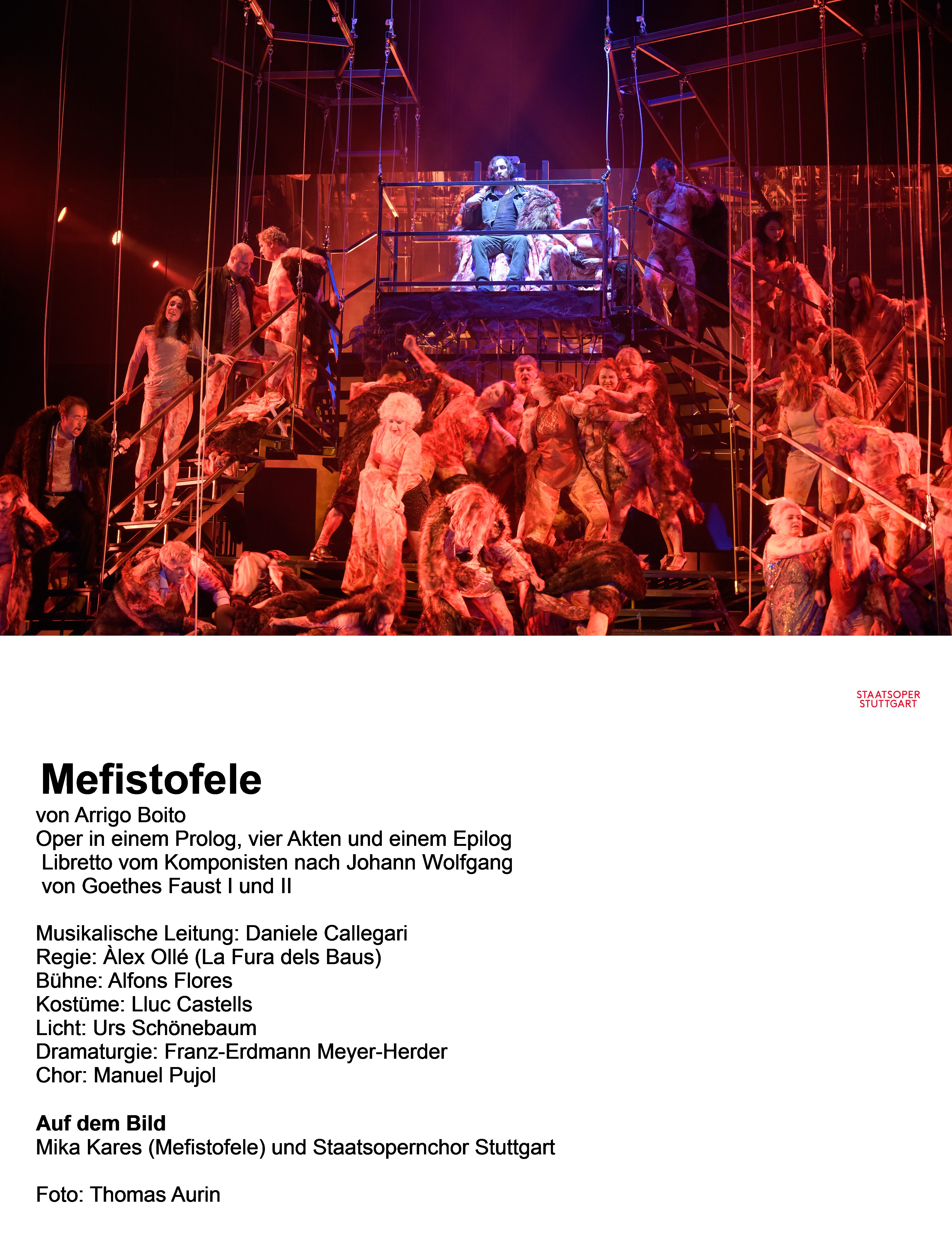 Sonic Power and Imposing Visuals: Mefistofele at the Staatsoper